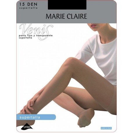 Panty fino y transparente Supertalla Marie Claire