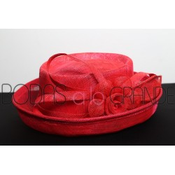 Sombrero color rojo