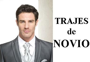 TRAJES NOVIO
